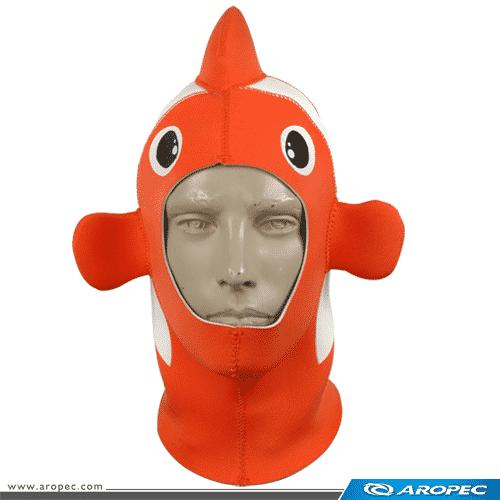 Aropec-HD-24-3mm-小丑魚造型潛水頭套