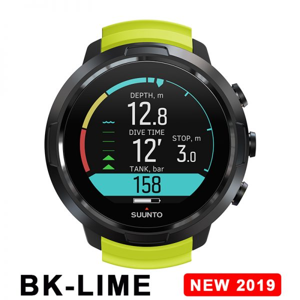 SUUNTO D5 All BK /BK Lime /W /BK電腦錶