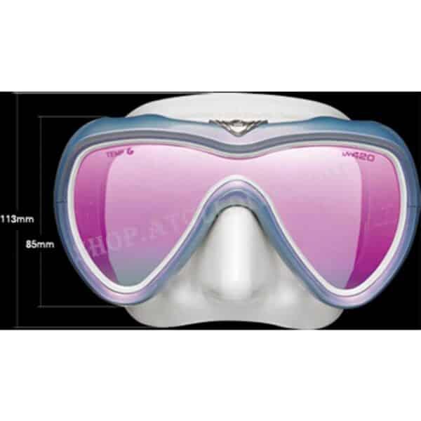 GULL VADER FANETTE MASK UV420 GM-1262 潛水單面鏡